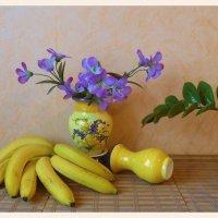 Банановый веер :: Nina Yudicheva