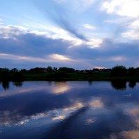 Вечер на реке Преголя.. :: Антонина Гугаева