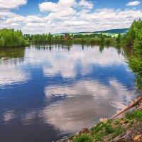 Облака в реке купались :: Любовь Потеряхина