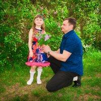 папа с дочкой :: Ольга Кудинова