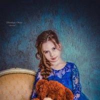 Девочка с мишкой. :: Оксана Я