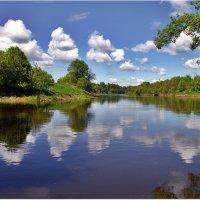Река и облака :: Вячеслав Минаев