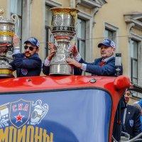 Чемпионский парад СКА 21017(Кубки) :: Valerii Ivanov