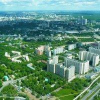 Московские  просторы  с  высоты  337  метров  над  землёй.... :: Galina Leskova
