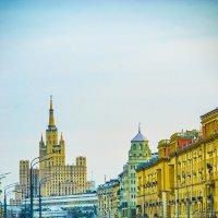 Москва, Площадь Маяковского, вид на Садовое кольцо :: Игорь Герман