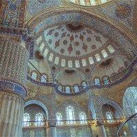 Интерьер Голубой мечети (Султанахмет) Стамбула :: Ирина Лепнёва
