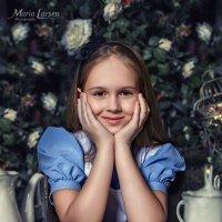 Алиса в стране чудес :: Мария Ларсен