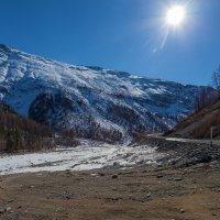 Солнце над горами :: Анатолий Иргл