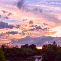 Розовые минуты на закате. :: юрий Амосов