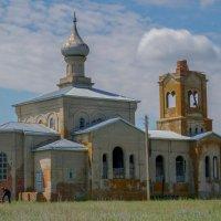 Храм Георгия Победоносца. :: Надежда Парфенова