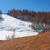 Нерастаявший ледник :: Анатолий Иргл
