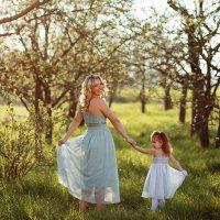 Мама и дочка. :: Natallia Ritter