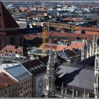 Мюнхен с высоты птичьего полета. :: Михаил Розенберг