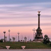 Майский вечер, розовый закат :: Николай Белавин