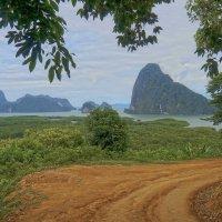 Дороги Таиланда. Национальный парк Пханг Нга. :: Elena Izotova