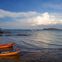 Вид с острова Ко Лан на Сиамский залив. Тайланд. :: Rafael