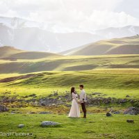 Love Story в горах :: Юрий Лысенко