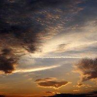 Небо на закате. :: Антонина Гугаева