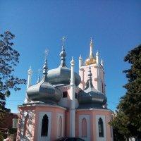 храм св.Иоанна Златоуста на горе Поликур в Ялте :: Евгения Куприянова