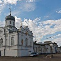 Храм у вокзала. Буй. Костромская область :: MILAV V