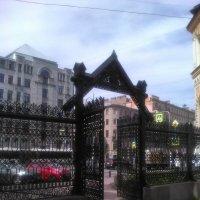 Знаменитая решетка Сан-Галли. (Санкт-Петербург). :: Светлана Калмыкова