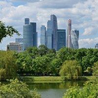 Общий вид Московского международного делового центра «Москва-Сити» :: Татьяна Помогалова