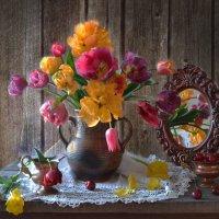 В очень старом саду я забуду о грусти своей... :: Валентина Колова