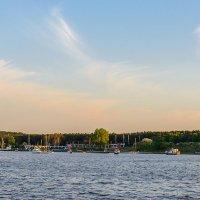 Вечер на заливе :: Леонид Соболев
