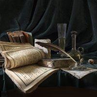 Натюрморт с книгами :: Evgeny Kornienko
