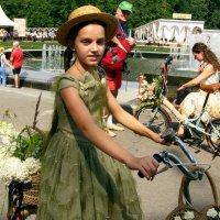 Девочка из прошлого :: Vera Ostroumova