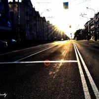 Улица моего города :: Сергей Землянский