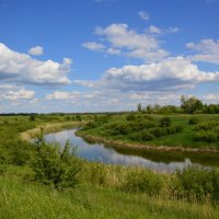 река Сал. :: Виктор ЖИГУЛИН.