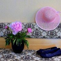 Розовая шляпа и кружевные туфельки :: Nina Yudicheva