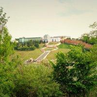 Чкаловская лестница с Борского берега :: Андрей Головкин