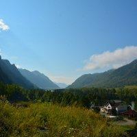 Утро в долине Катуни. :: Валерий Медведев