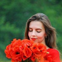 маковый букет... :: Ольга Маркарова