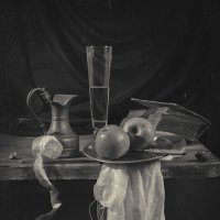 натюрморт с яблоками :: Evgeny Kornienko