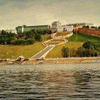 Вид на Чкаловскую лестницу :: Андрей Головкин