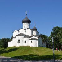 Храм( церковь) Василия на холме. г.Псков. :: Igor Osh