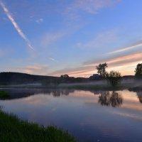 Вечером на реке. :: Наталья