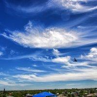 Перистые облака :: Юрий Фёдоров