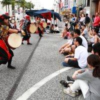 Показательные выступления местных танцевальных коллективов. Окинава. :: Ilona An