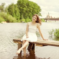 Летняя фотопрогулка с Александрой :: Катерина Фомичева