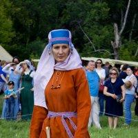 Костюм замужней женщины племени Вятичей. :: Elena Izotova