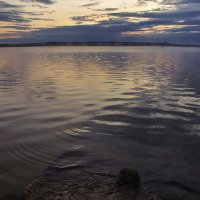 Летний вечер на водохранилище 2015 :: Юрий Клишин