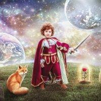 """коллаж """"Маленький принц"""" :: Екатерина Сачева"""