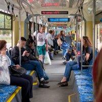 Московский трамвай :: Валерий Пегушев