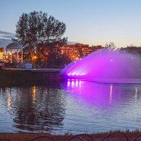 Светящийся фонтан :: юрий Амосов