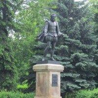 Памятник Сервантесу в Москве :: Дмитрий Никитин