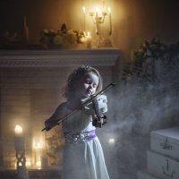Юная скрипачка :: Жемчужникова Марина